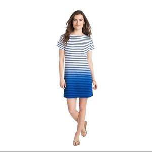 Vineyard Vines Striped T-Shirt Ombré Dress